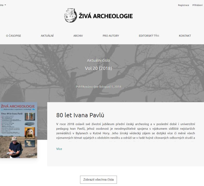 Živá archeologie